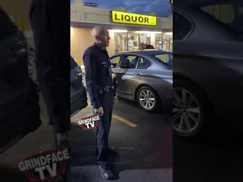 LAPD Harassment ( #GrindFaceTV )