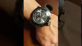 AMST AM3003 Men LED Sports Watch GearBest
