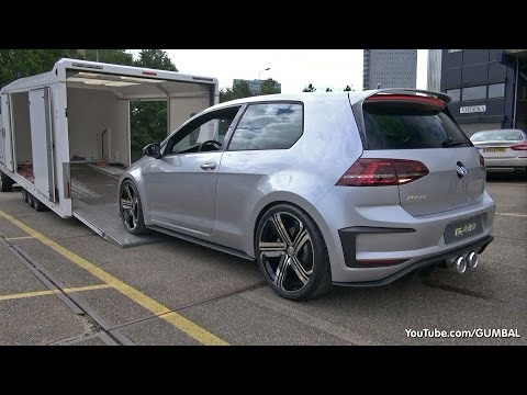 2015 Volkswagen Golf VII R400 Concept: - Start up, Exhaust Sounds & More! from YouTube · Duration:  4 minutes 5 seconds