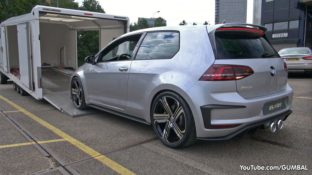 2015 volkswagen golf vii r400 concept start up exhaust sounds more youtube