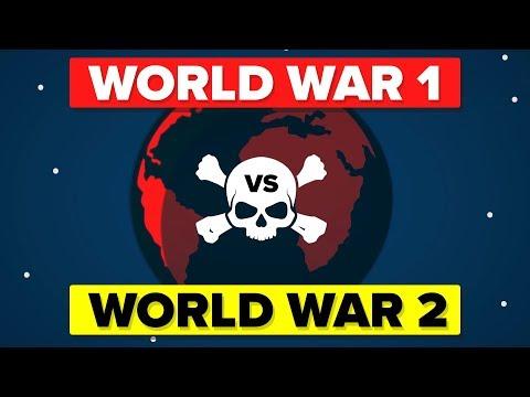 World War 1 VS World War 2 - How Do They Compare?