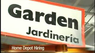Home Depot Plans To Hire Thousands