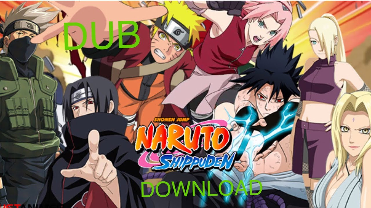Download Naruto Shippuden Dubbed For Free