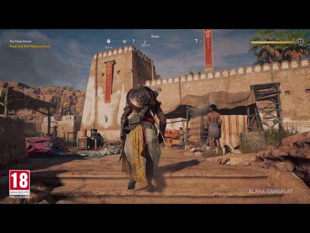 Assassin's Creed Origins - Démo de gameplay E3 2017