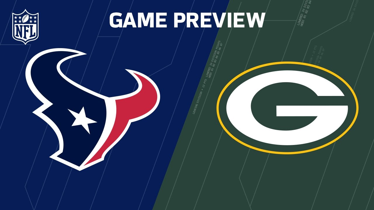 Texans Vs Packers Week 13 Preview Around The Nfl Podcast Nfl Youtube