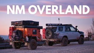 Solo camping adventure in New Mexico | Lifestyle Overland S2E17