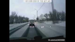 Подборка аварий. Зима 2013. Часть 6