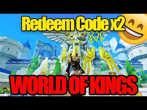#NEW WORLD OF KINGS - PLATINUM GIFT | REDEEM CODE X2 | IOS ANDROID MMORPG |