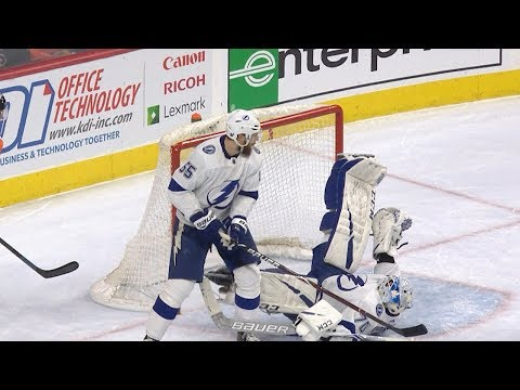 Ronnie And TKras - VIDEO: Bolts Domingue NHL Save Sequence Of The Year Candidate!