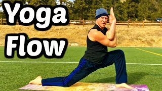 Eagle Yoga Flow - 10 Min Full Body Workout (part 1 of 2)