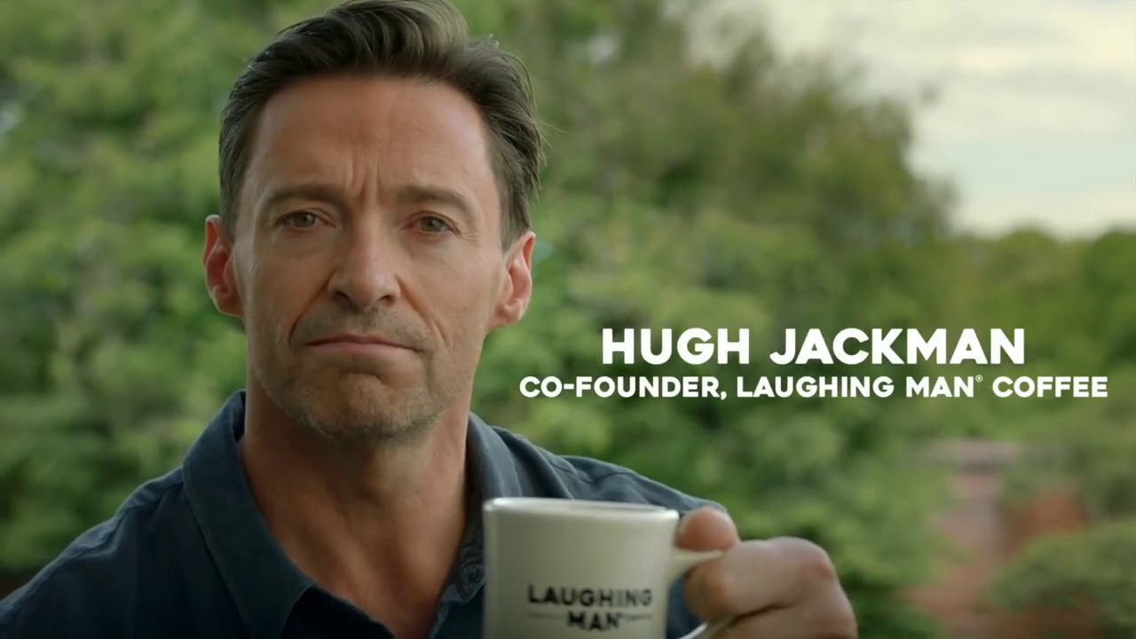 Comercial Laughing ManR Coffee This Town 15