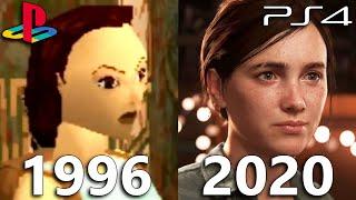 PS1 vs PS2 vs PS3 vs PS4 vs PS5 - PlayStation Games Evolution (1994-2020)