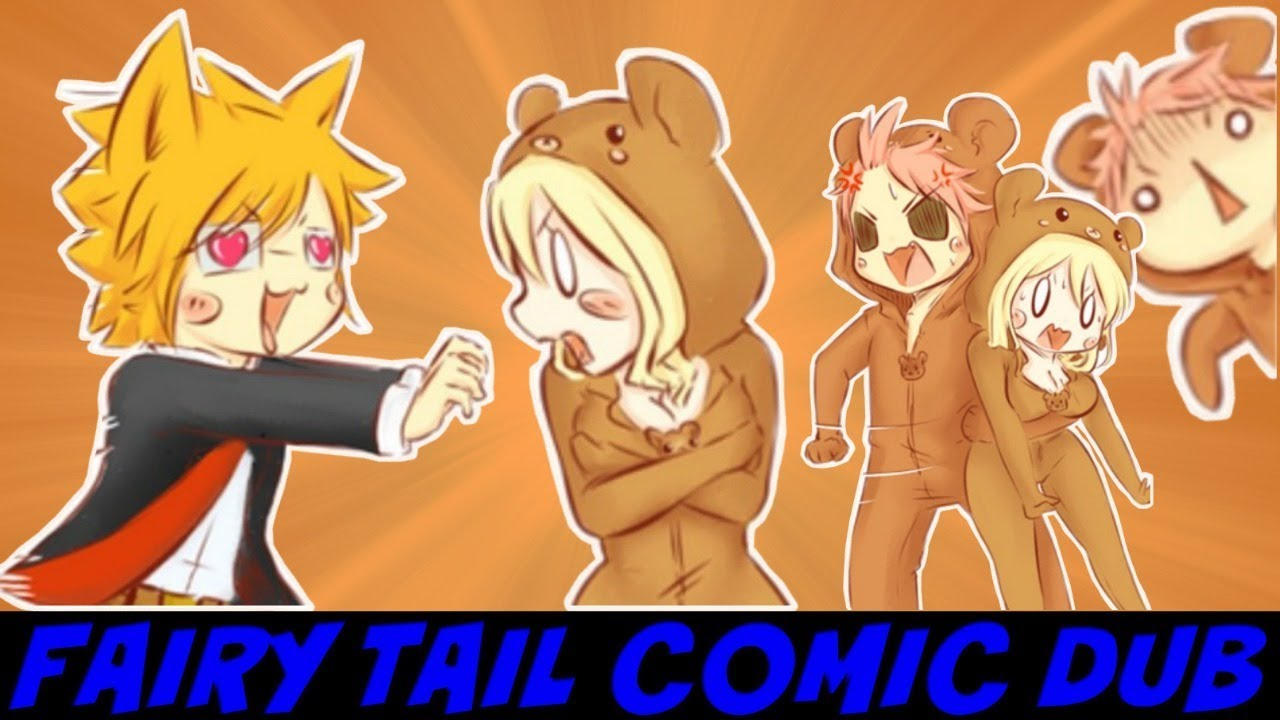 Fairy Tail Comic Dub Natsu Is Jealous Because Loke Flirts With Lucy Comic By Likubears