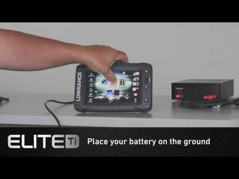 How to Use Elite Ti Touchscreen Out of Water