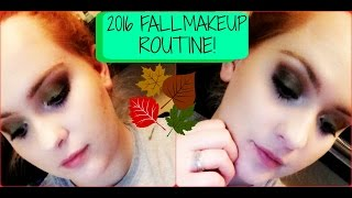 ARIEL MARIE FEAT. MY FIANCE ** 2016 FALL MAKEUP ROUTINE**