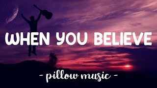 When You Believe - Whitney Houston & Mariah Carey (Lyrics) 🎵