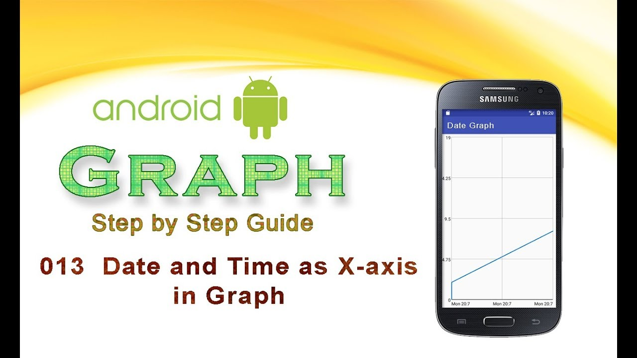 013: Date and Time as X-axis in Graph : Android Graph View tutorial