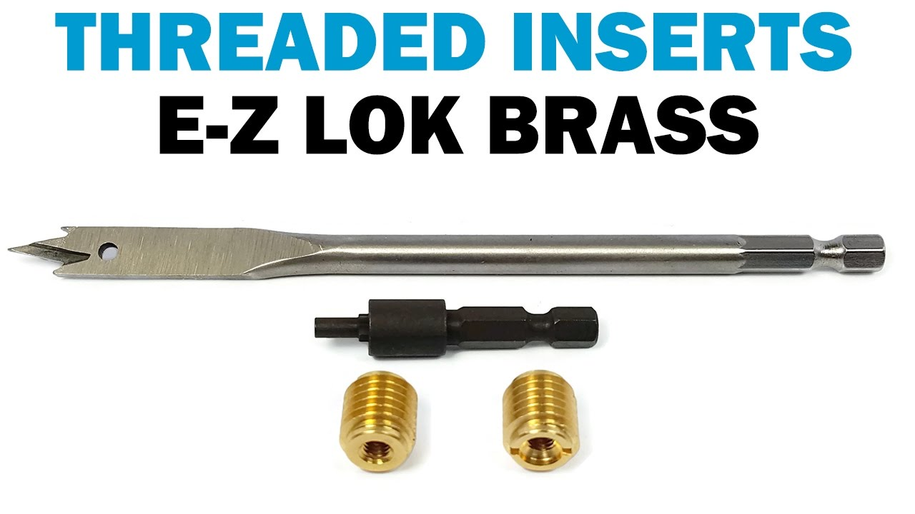 How to Install and Use E-Z LOK Thread Inserts & Spade Bits | Fasteners 101