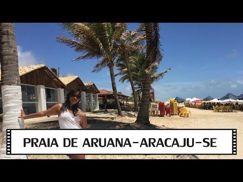 Praia de Aruana - Aracaju - Sergipe - VLOG de Viagem 5 de 5 - Fim da série!