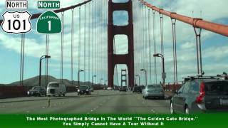San Francisco, CA And The Bay Area Freeway Tour