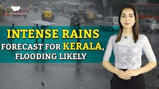 Extremely heavy rains forecast for Kerala, flooding likely | Skymet weather
