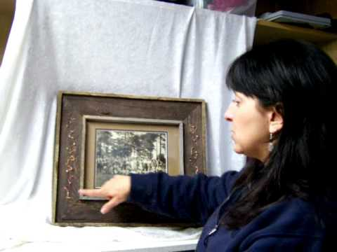 A mothers jewelry renewed in a keepsake picture frame by History in the Making