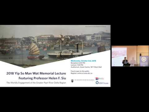 2018/19 Yip So Man Wat Memorial Lecture with Professor Helen F. Siu