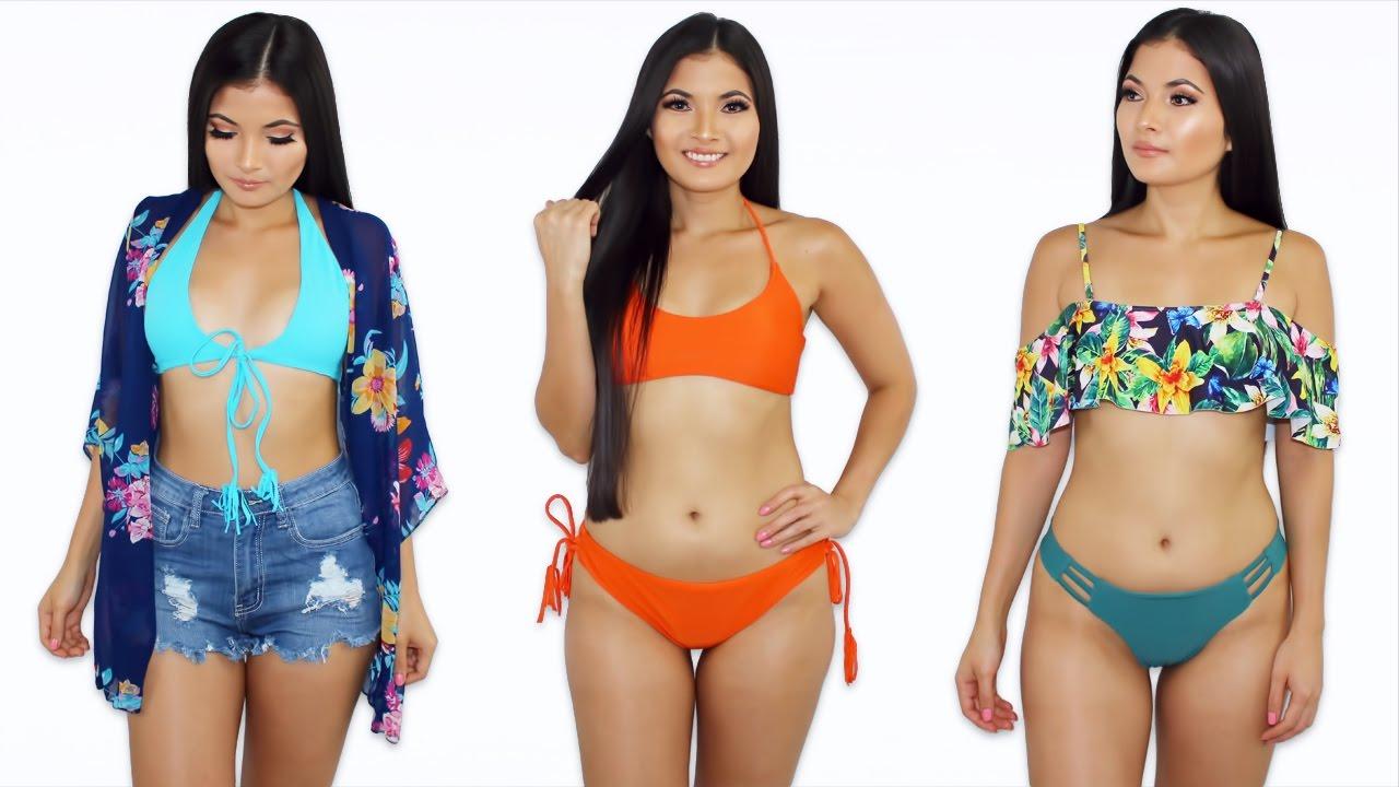 4ef2ec5f6 Trajes De Baño Bonitos y Baratos 🌊 Bikinis Haul 👙 Bessy Dressy ...