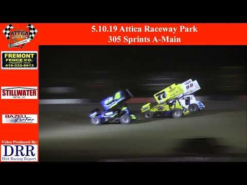 5.10.19 Attica Raceway Park 305 Sprints A-Main