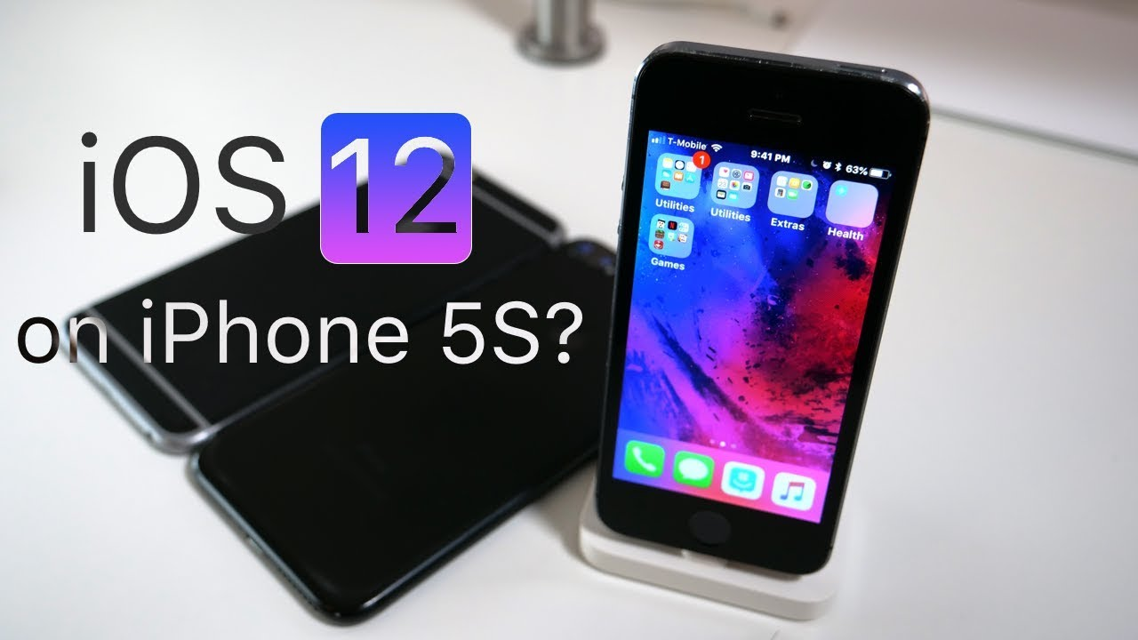 iphone 5 and 5s ios 12 coming to iphone 5s 4128