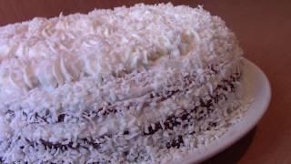 """Торт """"ВИШЕНКА""""/Торт """"Вишня в Снегу""""/ Очень Вкусный Домашний Тортик"""
