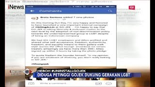 Download Video #UninstallGojek Hebohkan Netizen Akibat Petinggi Ojek Online Dukung LGBT - iNews Malam 13/10 MP3 3GP MP4