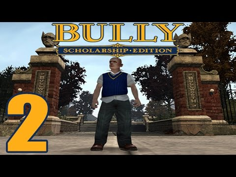 Bully: Scholarship Edition Walkthrough Gameplay HD - English Class 1 - Part 2