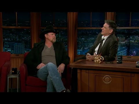 Late Late Show with Craig Ferguson 12/7/2011 Trace Adkins
