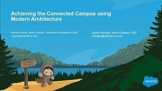 Achieving the Connected Campus using Modern Architecture