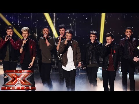 Stereo Kicks sing Snow Patrol/Leona Lewis' Run | Live Week 8 | The X Factor UK 2014