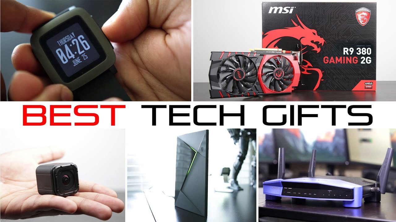 Best Tech Gifts Under $200 - Holiday Gift Guide 2015 - YouTube