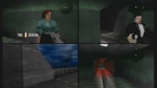 Goldeneye 007 - Dam 4 player via N64 Gameshark