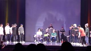 Buzz Style vol.8 2014.3.9 B-BOY BATTLE 決勝 Ambulance chaser vs Best of the West