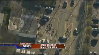 Bank Robbery Malden MA March 23 2012