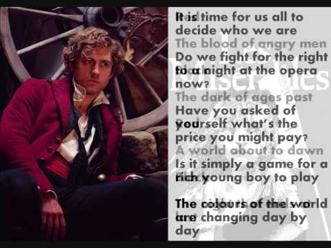 it is time for us_Les Mis - ABC cafe/red and black lyrics - YouTube
