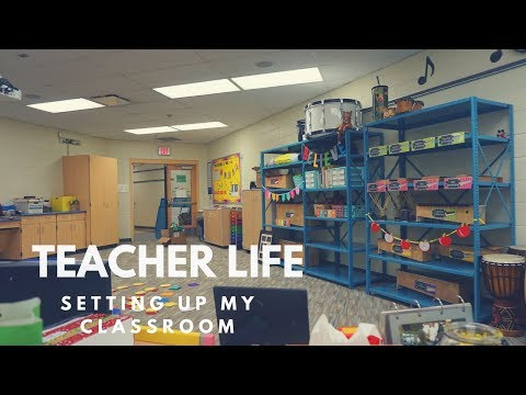 setting up my music classroom & family time // TEACHER LIFE #7