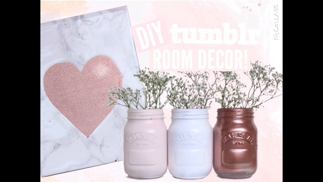 diy tumblr room decor 2016! spring & copper | floral princess