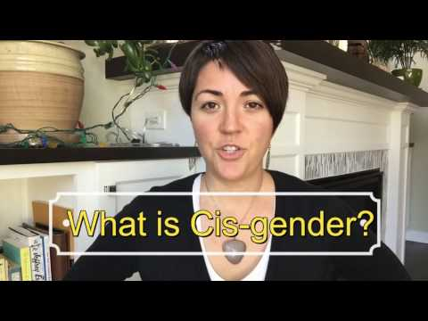 What is cisgender?