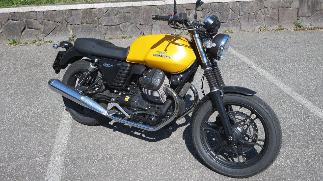 View Moto Guzzi V7 Stone Start Up And Sound Oto