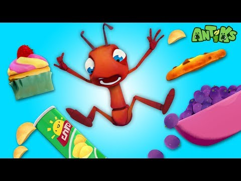 Oddbods Present: Antiks | Ants At A Picnic | Funny Cartoons For Kids