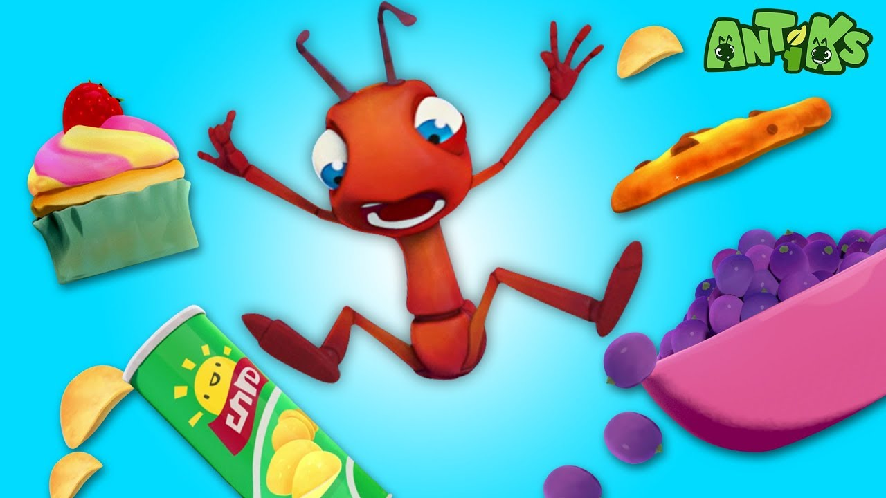 Oddbods Present: Antiks   Ants At A Picnic   Funny Cartoons For Kids