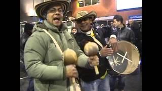 PONLE EL CORONCORO en cumbia 19-11-2013 Colombia - Holanda