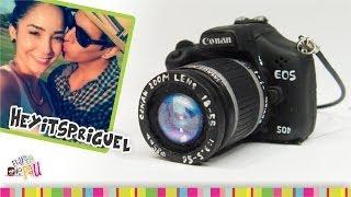 HEYITSPRIGUEL Camera Charm Polymer Clay Tutorial / Camara Fotográfica de Arcilla Polimérica Thumbnail