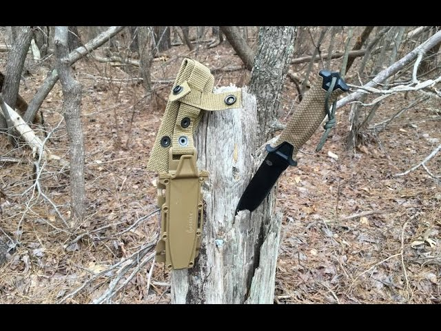 Gerber StrongArm Tactical Fixed Blade Knife - Unboxing, Review, and Field Test